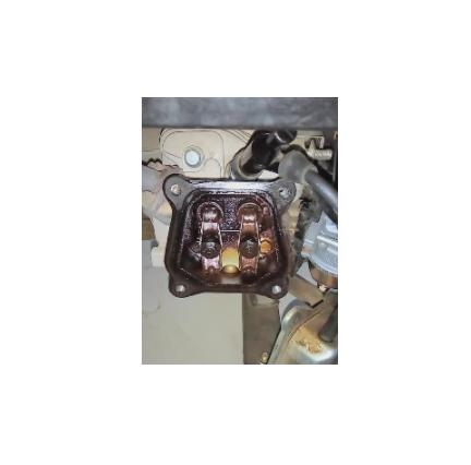 发电机进气门图片-发电机进气门排气门怎么调整?