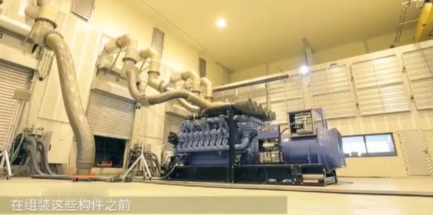 康明斯发电机组装过程视频演示图片,柴油发电机如何生产?